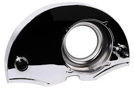 Chrome 36hp Fan Shroud Cooler Heater Ducts 8892 Ac119013c