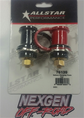 Allstar Performance Battery Charging Posts Pair All76139