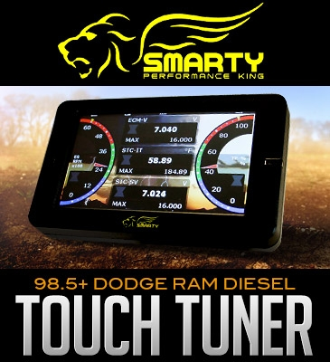 Smtouch T on Dodge Ram 4500 Towing